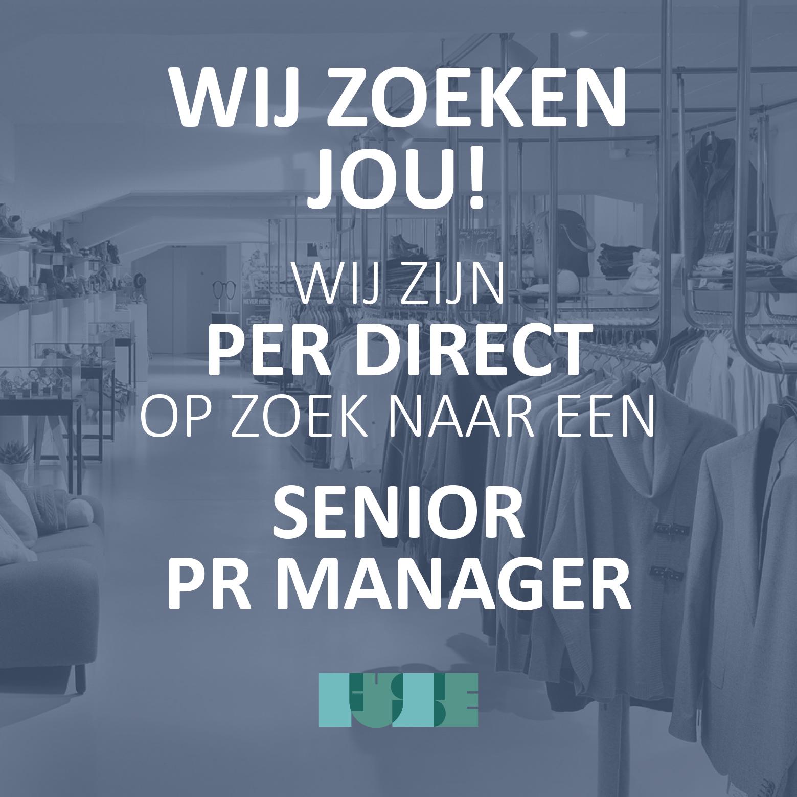 Solliciteren? Stuur dan je CV en motivatiebrief naar info@fuse-communication.com t.a.v. Maaike Wegman